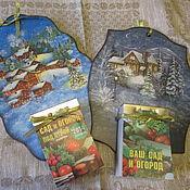 Для дома и интерьера ручной работы. Ярмарка Мастеров - ручная работа Календарница,    подвеска для календаря. Handmade.