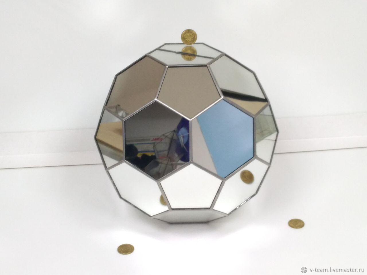 Копилка из зеркала большая, Копилки, Краснодар,  Фото №1