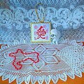 """Для дома и интерьера ручной работы. Ярмарка Мастеров - ручная работа Дорожка для стола """"Блаженство"""" .. Handmade."""