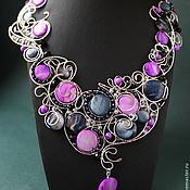 Украшения handmade. Livemaster - original item Necklace Belle Epoque. Handmade.