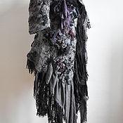 """Одежда ручной работы. Ярмарка Мастеров - ручная работа Жакет """"Blueberry twilight"""". Handmade."""
