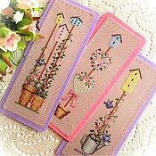 Канцелярские товары handmade. Livemaster - original item Bookmarks in shebby-shik styly. Handmade.