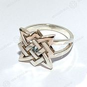 Русский стиль handmade. Livemaster - original item The ring (symbol of choice). Handmade.