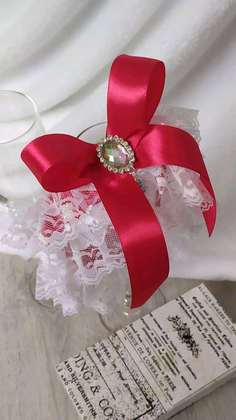 Подвязка на ножку невесты, Подвязки, Химки,  Фото №1
