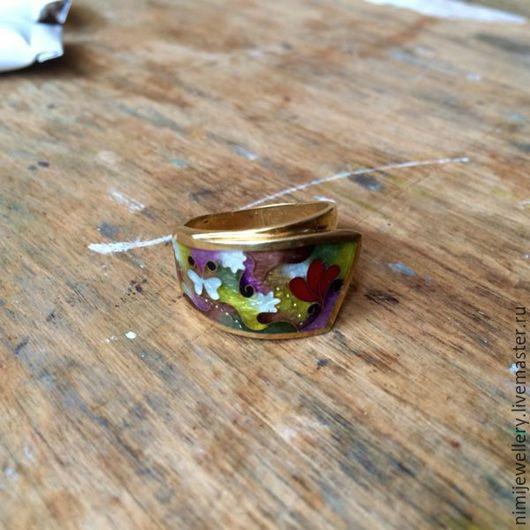 """Кольца ручной работы. Ярмарка Мастеров - ручная работа. Купить Кольцо """"Белая Бабочка"""". Handmade. Минанкари, белый, подарок женщине"""