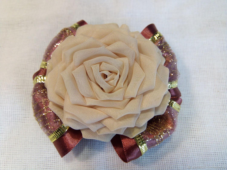 Loom bands for hair 'Roses', Scrunchy, Bogotol,  Фото №1
