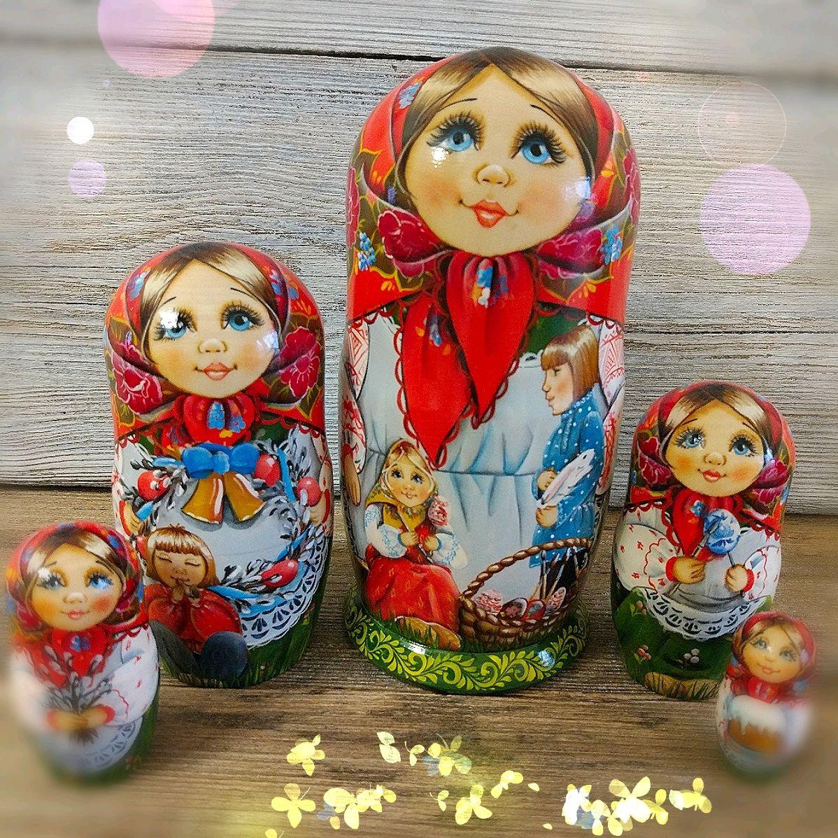 """Матрешка 5 мест """" Пасха"""", Матрешки, Москва,  Фото №1"""