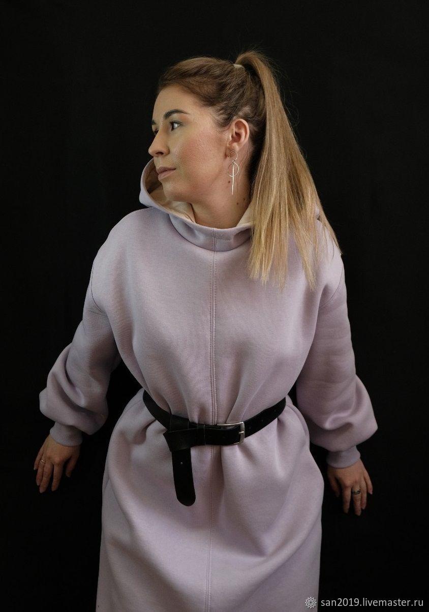 Теплое платье с капюшоном и карманами, Платья, Казань,  Фото №1