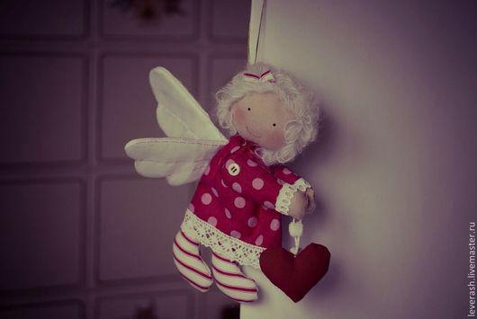 Сказочные персонажи ручной работы. Ярмарка Мастеров - ручная работа. Купить Летящий Ангел. Винтажный ангел. ангелочек. Handmade. Ангел