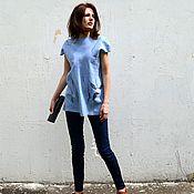 Одежда handmade. Livemaster - original item Felted summer tunic
