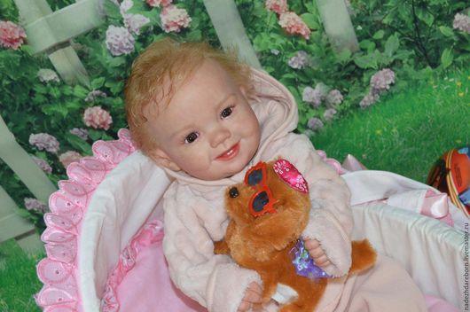 Куклы-младенцы и reborn ручной работы. Ярмарка Мастеров - ручная работа. Купить Кукла реборн из молда Emiliya. Handmade. Бежевый