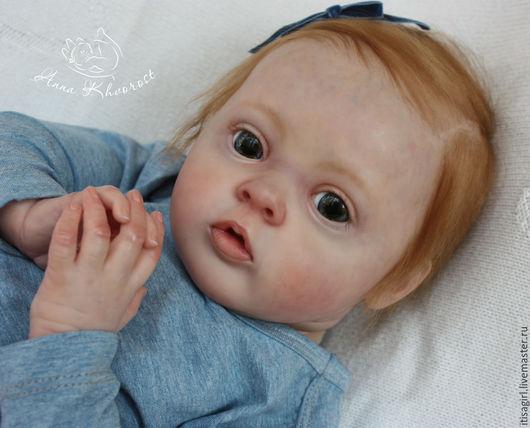 Куклы-младенцы и reborn ручной работы. Ярмарка Мастеров - ручная работа. Купить Лиса, Елисавета из молда Tiffany... Handmade. Оранжевый