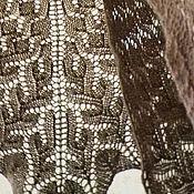 """Аксессуары ручной работы. Ярмарка Мастеров - ручная работа Шаль """"Мокко"""". Handmade."""