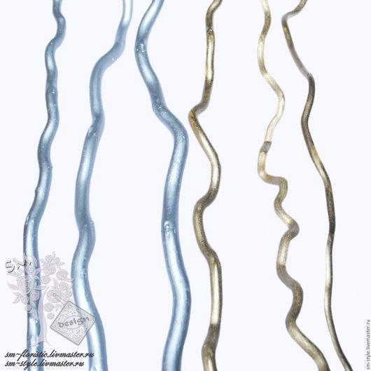 Материалы для флористики ручной работы. Ярмарка Мастеров - ручная работа. Купить Корелис (корилус) золотой и серебряный. Handmade. Декор