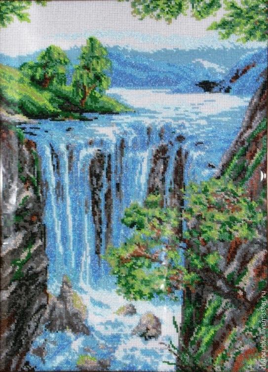 Водопад.Набор для вышивки