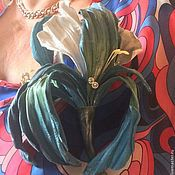 """Украшения ручной работы. Ярмарка Мастеров - ручная работа Брошь """"Ирис"""". Handmade."""