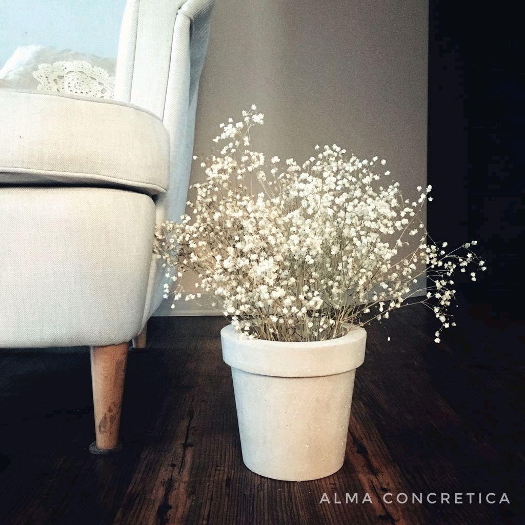 Бетонное кашпо «Кашпо» Almaconcretica