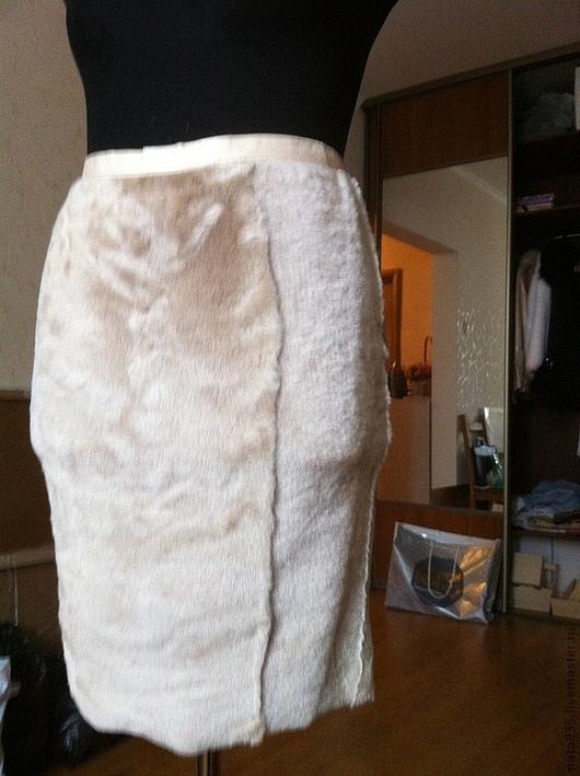"""Юбки ручной работы. Ярмарка Мастеров - ручная работа. Купить Юбка """"Нежный беж"""". Handmade. Бежевый, одежда для женщин"""