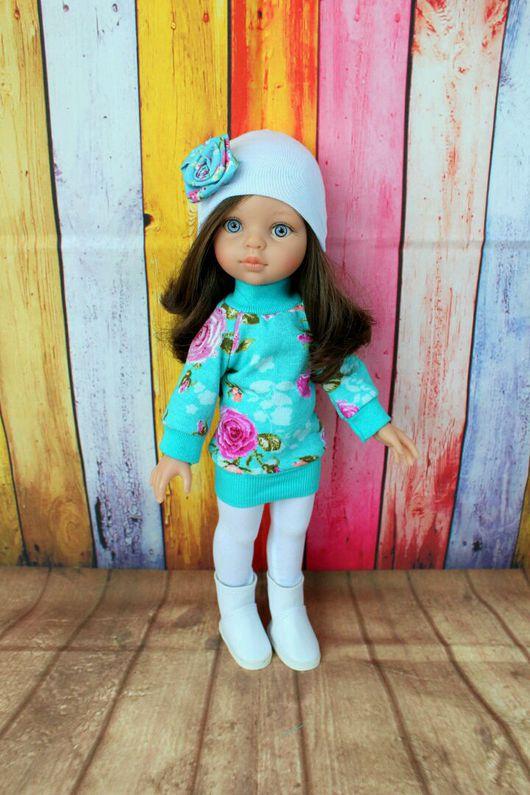 Одежда для кукол ручной работы. Ярмарка Мастеров - ручная работа. Купить Комплект одежды для кукол 32-34 см paola reina. Handmade.