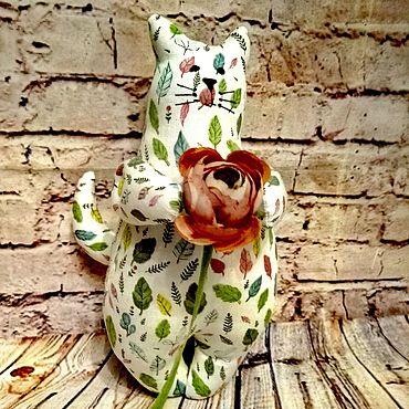 Куклы и игрушки ручной работы. Ярмарка Мастеров - ручная работа Котик №3. Handmade.
