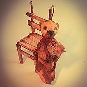 """Подарки к праздникам ручной работы. Ярмарка Мастеров - ручная работа Ватная елочная игрушка, серия """"Старые друзья"""".. Handmade."""