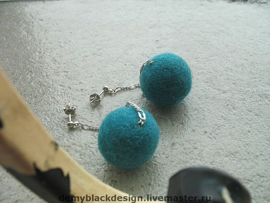Серьги ручной работы. Ярмарка Мастеров - ручная работа. Купить Длинные серьги Green bubbles. Handmade. Длинные серьги