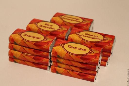 Свадебные аксессуары ручной работы. Ярмарка Мастеров - ручная работа. Купить шоколад комплимент для гостей. Handmade. Шоколад, шоколадная свадьба