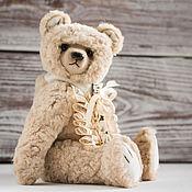 Куклы и игрушки ручной работы. Ярмарка Мастеров - ручная работа Леонардо. Мишка тедди 24см. Итальянская вискоза. Handmade.