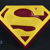 """Косметика ручной работы. Ярмарка Мастеров - ручная работа """"Superman"""" мыло ручной работы. Handmade."""
