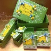 Подарки к праздникам handmade. Livemaster - original item box of mom`s treasures. Handmade.