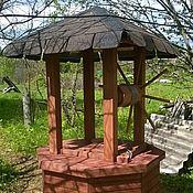 Для дома и интерьера ручной работы. Ярмарка Мастеров - ручная работа Домик для колодца. Handmade.