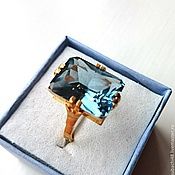 Кубачи! Серебряное кольцо 925 пробы Голубоглазка.