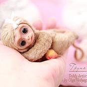 Куклы и игрушки ручной работы. Ярмарка Мастеров - ручная работа обезьянка Груня. Handmade.