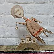 Русский стиль ручной работы. Ярмарка Мастеров - ручная работа Ангел-3. Handmade.
