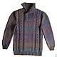 For Men handmade. Livemaster - handmade. Buy Very warm knitted sweater 101.Men's sweater, gift to man