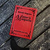 """Сумки и аксессуары handmade. Livemaster - original item Клатч-книга """"Мастер и Маргарита"""". Handmade."""