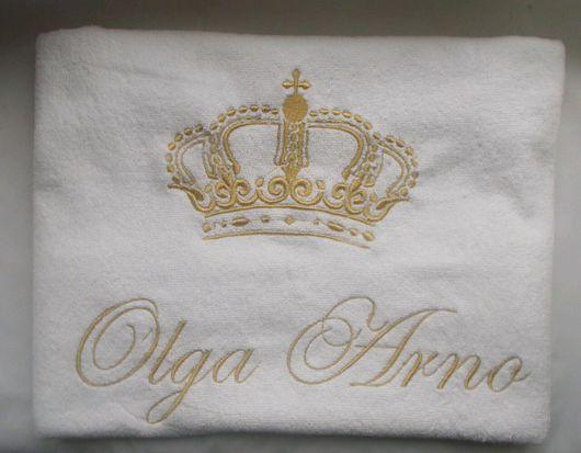 Персональные подарки ручной работы. Ярмарка Мастеров - ручная работа. Купить Создай свое именное полотенце. Handmade. Вышивка