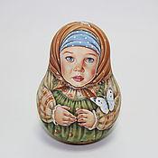 Куклы и игрушки ручной работы. Ярмарка Мастеров - ручная работа неваляшка. Handmade.