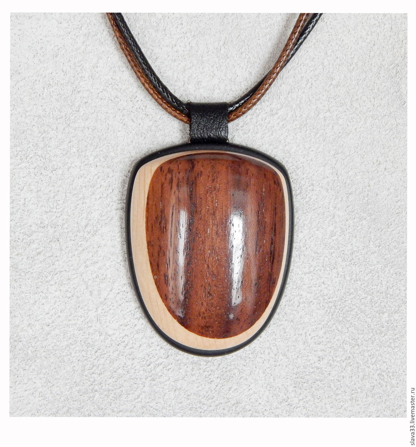 Pendants handmade. Livemaster - handmade. Buy Pendant made of wood.Pendant, wooden pendant, mosaic, combined
