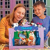 Кукольный театр ручной работы. Ярмарка Мастеров - ручная работа Компактный кукольный театр «Шапито». Handmade.