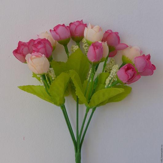 Материалы для флористики ручной работы. Ярмарка Мастеров - ручная работа. Купить Букет крокусов. Handmade. Рыжий, букет, искусственные цветы