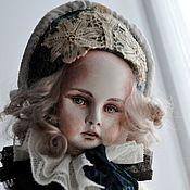 Куклы и игрушки ручной работы. Ярмарка Мастеров - ручная работа Пьеретта из высшего общества.... Handmade.