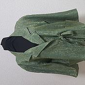 Одежда ручной работы. Ярмарка Мастеров - ручная работа шёлковый жакет. Handmade.