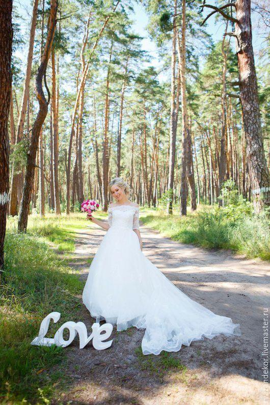 Свадебные аксессуары ручной работы. Ярмарка Мастеров - ручная работа. Купить LOVE  обьемная надпись для свадебной фотосессии. Handmade. Love