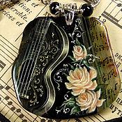 """Украшения ручной работы. Ярмарка Мастеров - ручная работа """"Музыка в камне. Гитара"""". Handmade."""