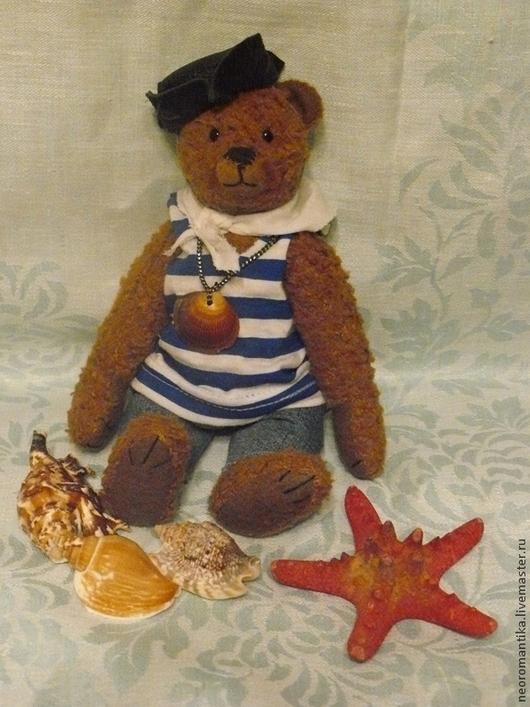 Мишки Тедди ручной работы. Ярмарка Мастеров - ручная работа. Купить Вовка моряк. Handmade. Мишка тедди, море