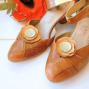 """Украшения ручной работы. Ярмарка Мастеров - ручная работа Броши для обуви """"Маки степные"""". Handmade."""