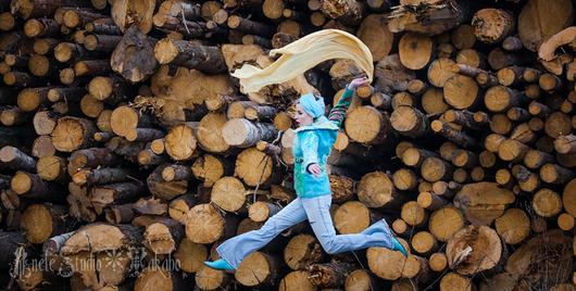 Пиджаки, жакеты ручной работы. Ярмарка Мастеров - ручная работа. Купить Валяный Жакет Небо над полем. Handmade. Бирюзовый