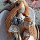 """Коллекционные куклы ручной работы. Ярмарка Мастеров - ручная работа. Купить Ангел """"Поговори со мною, мама..."""". Handmade."""