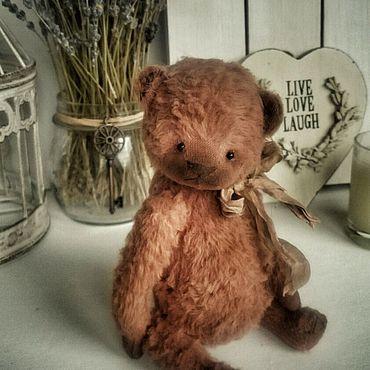 Куклы и игрушки ручной работы. Ярмарка Мастеров - ручная работа Теддик 18 см. Handmade.